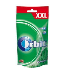 ORBIT SPEARMINT XXL - 42 DRAŻETKI