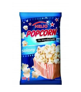 Popcorn do mikrofalówki solony 90 g Helio