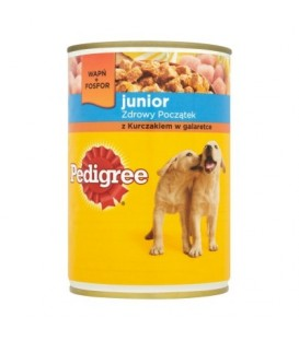 PEDIGREE JUNIOR KURCZAK   400G