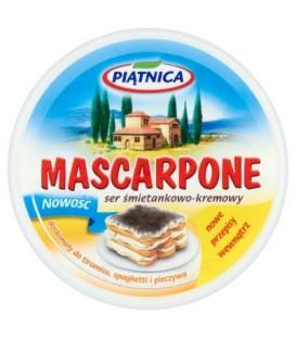 Piątnica Mascarpone Ser śmietankowo-kremowy 250 g