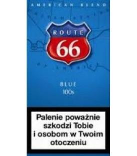 Route 66 blue 100s