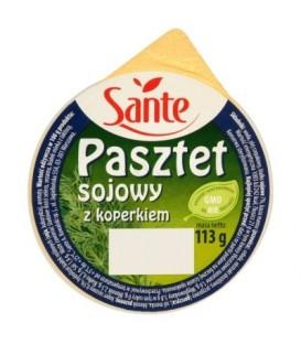Sante Pasztet sojowy z koperkiem 113 g
