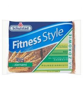 Schulstad Fitness Style z ziarnami Chleb żytni 420 g