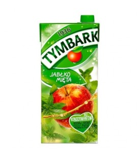 Tymbark Jabłko mięta napój 2 l karton