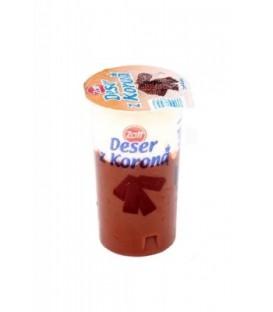 ZOTT Deser o smaku czekoladowym z bitą śmietanką  DESER Z KORONĄ 175 g