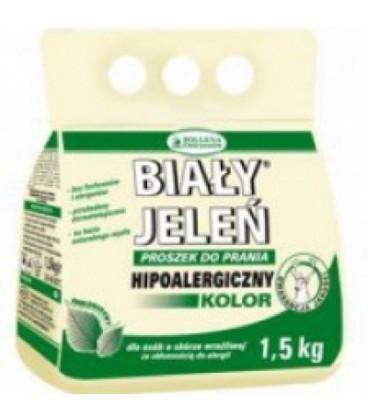 Biały Jeleń proszek do prania hipoalergiczny 1500g