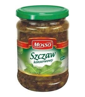 Mosso szczaw konserwowy 270g