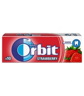 ORBIT STRAWBERRY - 10 DRAŻETEK TEST SZT