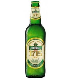 Lwowskie 1715 piwo jasne paster 500ml Ukraina