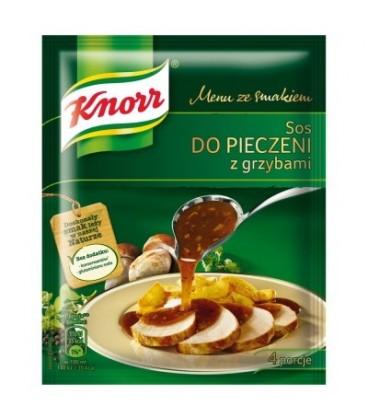 Knorr Menu ze smakiem Sos do pieczeni z grzybami 29 g