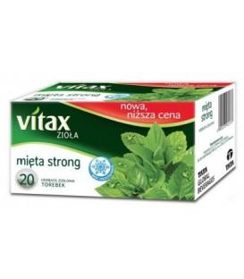 Vitax herbata Mięta Strong 20s 30g
