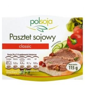 Polsoja Pasztet sojowy classic 115 g