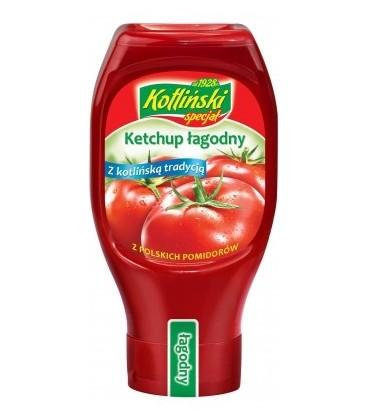 Kotlin Ketchup łagodny plastik 460g