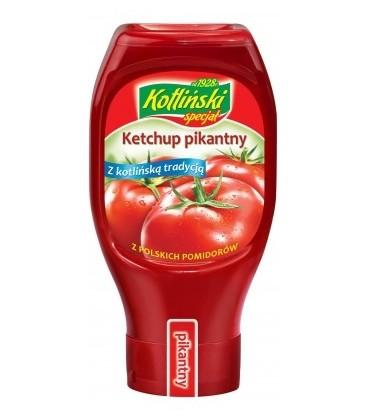Kotlin Ketchup pikantny plastik 460g