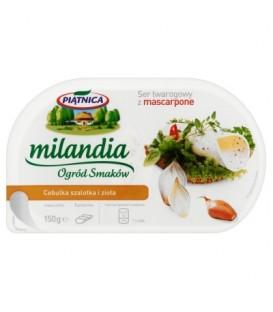 Milanda Ser twarogowy cebula i zioła 150g