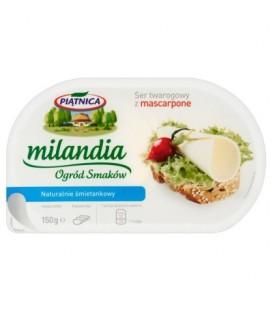 Piątnica Milandia Ogród Smaków Ser twarogowy z mascarpone naturalnie śmietankowy 150 g