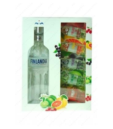 Finlandia 40% 0,5l+5 miniaturek