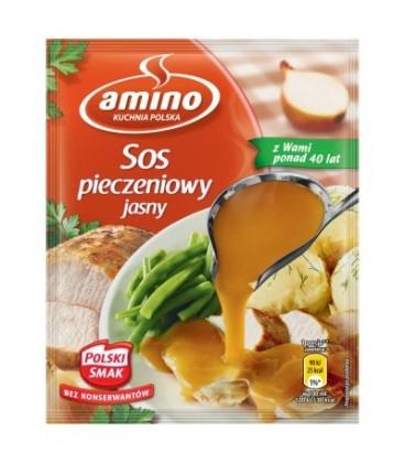 Amino Sos pieczeniowy jasny 38 g