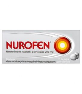 Nurofen 200 mg Tabletki powlekane 10 sztuk