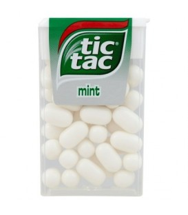 Tic Tac Mint Drażetki o smaku miętowym 18 g