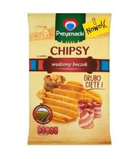 Przysnacki chipsy wędzony boczek 135g