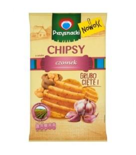 Przysnacki chipsy czosnek 135g