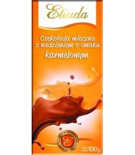 Etiuda Czekolada z nadzieniem o sm.karmelowym 100g