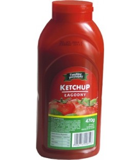 Familijne Przysmaki Ketchup łagodny 470g