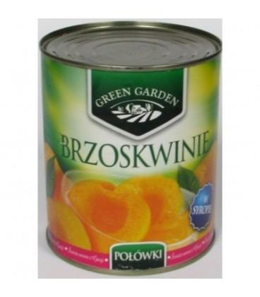 Green Garden Borzskwinie puszka 850ml