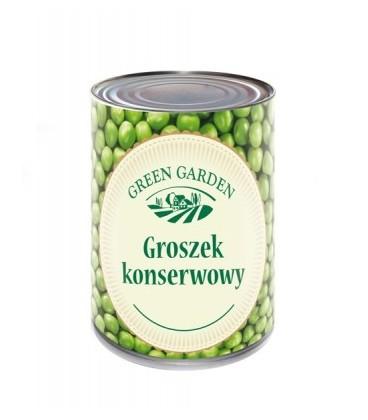 Green Garden Groszek konserwowy 400g