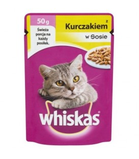 Mars Whiskas mini kurczak 50g