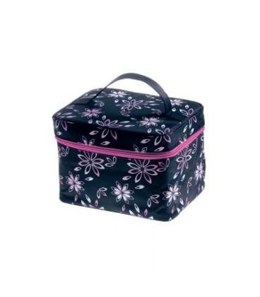 Inter-Vion Kosmetyczka damska kuferek średni