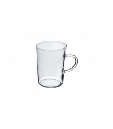 Komplet szklanek 6szt 0.22L stożek