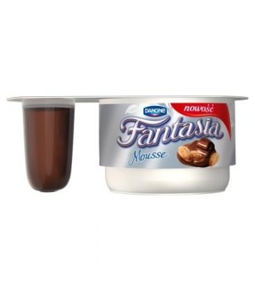 Danone Fantasia mouuse czekolada migdał 92g