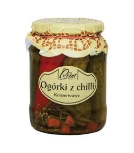 Orzeł Ogórki z chili 720g