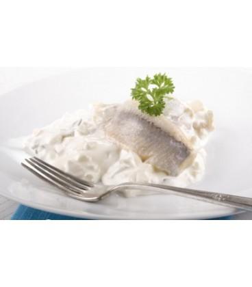 Filety śledziowe w sosie śmietanowym kg