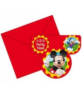 Zaproszenie disney myszka miki