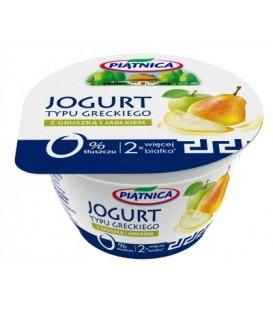 Piątnica jogurt grecki gruszka jabłko 150g