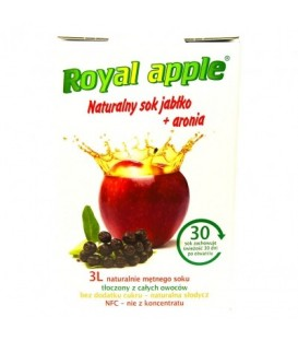 Sok Royal apple jabłko - aronia 3L
