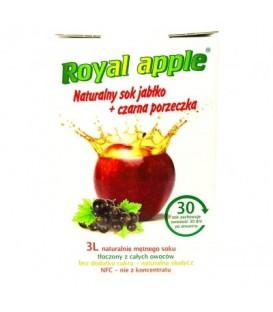 Sok Royal apple jabłko - porzeczka 3L