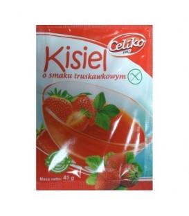 Celiko kisiel truskawkowy b/g 45g