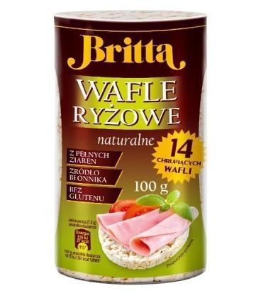 Britta Wafle ryżowe naturalne 100g
