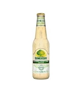Somersby Elderflower lime butelka 0,4L