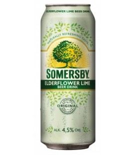 Somersby Elderflower lime puszka 0,5L