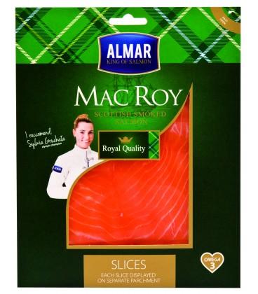 MAC ROY łosoś wędzony w plastrach   95 g
