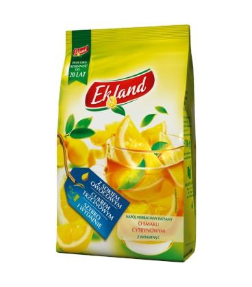 Ekland Napój herbaciany instant o smaku cytrynowym z witaminą C 300 g
