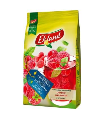 Ekland Napój herbaciany instant malina z witaminą C 300 g