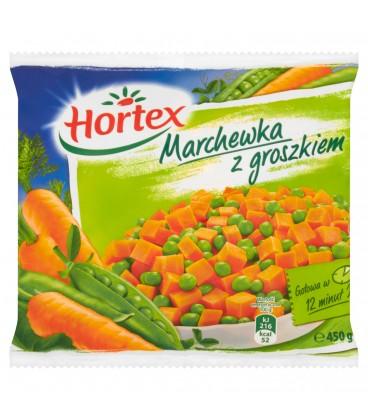 HORTEX MARCHEWKA Z GROSZKIEM 450G