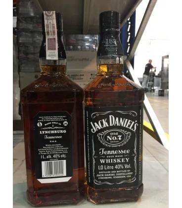 JACK DANIEL'S TENNESSEE WHISKEY 40% 1L