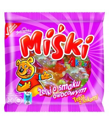Miśki żelki o smaku owocowym Akuku!  90g